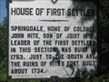 Image for House of First Settler