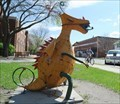 Image for Yellow Trogdor Dragon Scupture - Ames, IA