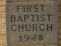 Image for 1948 - First Baptist Church - Hays, Kansas