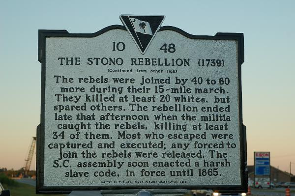 two views of the stono slave This event shattered the previous paternalistic view and caused a fundamental   while there were other slave revolts both before and after nat  after the stono  rebellion, the security act went into effect, as was already.