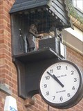 Image for Boots Clock with striking figure, Bromsgrove, Worcestershire, England
