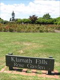 Image for Klamath Falls Rose Garden. Rotorua.  New Zealand.