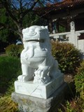 Image for Chinese Lions guard the Dr. Sun Yet Sen Memorial Hall
