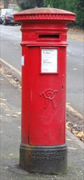 Image for Victorian Post Box - Broad Road, Sale, UK
