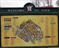 Image for City of York, UK - New York City, USA.