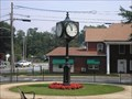 Image for City Clock in Park, Calhoun, GA