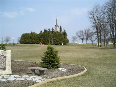 Area Picture for St. Martin's Church Marker