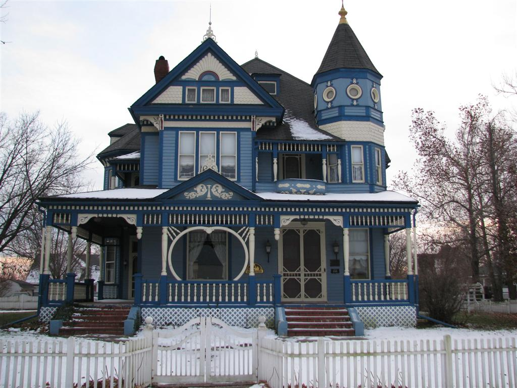 A taylor ray house gallatin missouri victorian for Home builders missouri
