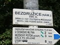 Image for Elevation Sign - Bezdruzice.590m