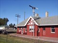 Image for Only Remaining Railroad Depot in Iron County, Wisconsin - Mercer, WI