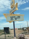 Image for Gold Mine Rock Shop Sign - Cañon City, CO