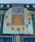 Image for Time Mural Sundial - Wautoma, WI