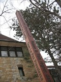 Image for Unitarian Church of Hinsdale (IL) Peace Pole