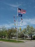 Image for Erie Basin Marina Nautical Flagpole - Buffalo, NY