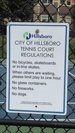 Tennis Regulations