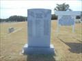 Image for War Memorial - Bomar Point Cemetery - Wilson, OK