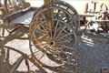 Image for Display Wagon Wheels - Eureka, MT