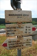 Image for Rozcestnik (Mariánské údolí), Czech Republic