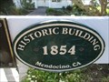 Image for Ford House - 1854 - Mendocino, CA