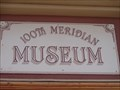 Image for Historic Route 66 - 100th Meridian Museum - Erick, Oklahoma, USA.