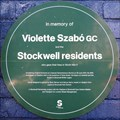 Image for Violette Szabo - Stockwell Terrace Rotunda, Stockwell, London, UK