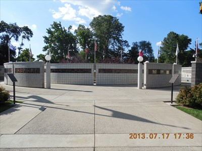 Veterans Wall of Honor, by MountainWoods