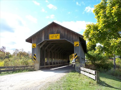 Caine Road Covered Bridge
