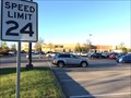 Image for Opry Mills' Weird Speed Sign