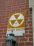 Image for Massac County Courthouse Fallout Shelter Sign - Metropolis, Illinois