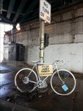 Image for Tyler James Febeck Ghost Bike, Chicago IL