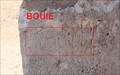 Image for Jim Bowie's Graffito at Presidio San Luis de las Amarillas/Presidio de San Saba -- Menard TX