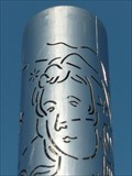 Image for Steel columns - Swansea, Wales, Great Britain.