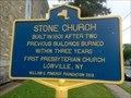 Image for Stone Church - Lowville, Lewis, New York