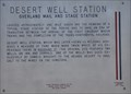 Image for Desert Well Station (Overland Mail and Stage Station)