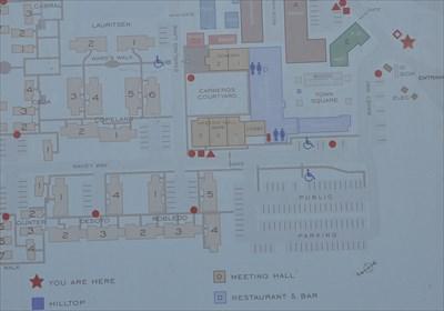 Carneros Inn Map on