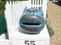 Image for Is he a Troll? Mailbox in Onga Onga. New Zealand.