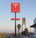 Image for Tesla grand opening in Kettleman City