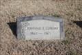 Image for 100 - Johnnie E. Lunday - IOOF Cemetery, Denton TX
