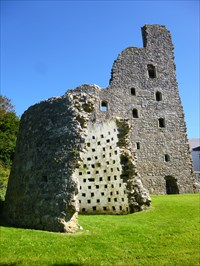 Castell Oxwich Dovecot