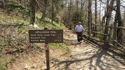veritas vita visited AT Crossing - Newfound Gap, Tennessee