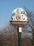 Image for Diddington Village Sign - Huntingdonshire