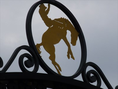 Cowboy Silhouette - Historic Downtown Kissimmee,