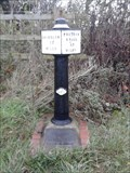 Image for Trent And Mersey Canal Milepost, Rugeley, Staffordshire (Brindley Bank)