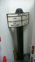 Image for Altrincham and Warrington Mile markers, Lakeland Motor Museum