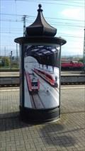Image for Litfaßsäule im Bahnhof - Saalfeld an der Saale/THR/Germany