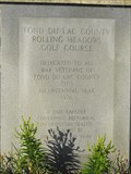 Image for Fond Du Lac County Rolling Meadows Golf Course Time Capsule - Fond du Lac, WI