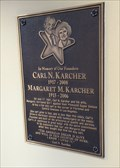 Image for Carl N. Karcher and Margret M. Karcher - Gorman, CA