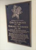 Image for Carl N. Karcher and Margret M. Karcher - Gorman, CA