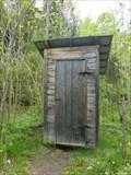 Image for Toilette de plein-air-St-Mathieu-du-Parc, Québec,Canada