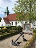 Image for Mindesmærke - Kirkegården - Thurø, Danmark